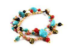 Neue Micro Macrame Armbänder mit zahlreichen Perlen auf Dawanda ...