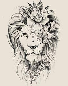 Kunst Tattoos, Leo Tattoos, Bild Tattoos, Cute Tattoos, Beautiful Tattoos, Body Art Tattoos, Tatoos, Awesome Tattoos, Portrait Tattoos