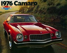 The 1976 Camaro LT, my first car looked just like this one!