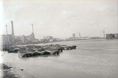 Wood wharf and Deptford Power Station London History, London Pictures, Vintage London, South London, Vintage Pictures, Movies Showing, Paris Skyline, Past, 1960s