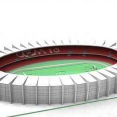 Estádio Mineirão Puzzle3D Quebra Cabeça 3D Projeto para Corte a Laser & Router Cnc