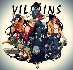 BNHA - Villains