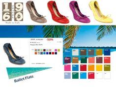 Ancora Saldi !!!!Ballet Flats 1960Travel