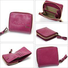 信頼できるクロエ【Chloe】レディース シャドー つ折り財布 シクラメン激安セール中。機能的なラウンドファスナー式のお二つ折り財布は超人気。