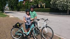A different side to Venice thanks to Harriet and Jeff for joining us on a bike tour. @CyclingVeniceLagoon @Cycle Cities