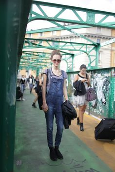 Overalls at Milan Fashion Week