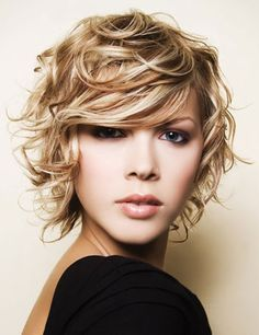 short curly hairstyles 2012