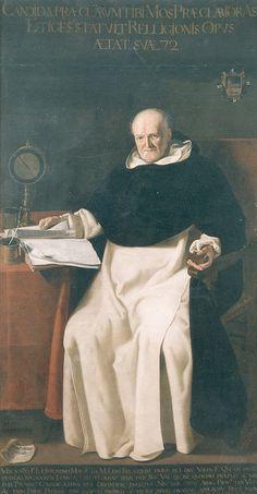El P. Jerónimo Mos // Jerónimo Jacinto de Espinosa (1600-1667) // Museo de Bellas Artes de Valencia