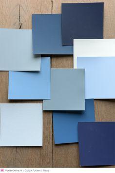 De Kleur van 2017 is Denim Drift - Een aangenaam, tijdloos, veelzijdig grijsblauw dat afhankelijk van hoe je het toepast er steeds weer anders uit ziet.  #kleur2017 #color #2017 Colour #blue #denim