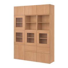 Coffee Bar Using Ikea Besta Cabinets Basement