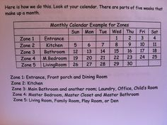 FLYing Basics: Day 29 – Getting in the Zone – happyhomehabits Fly Lady Cleaning, Zone Cleaning, House Cleaning Tips, Cleaning Hacks, Cleaning Routines, Cleaning Crew, Cleaning Checklist, Flylady Zones, Flylady Control Journal