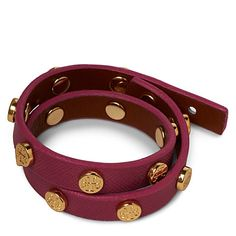double wrap tory burch orchid pink bracelet...ooooh