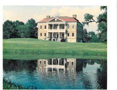 Drayton Hall, Charleston--One of the plantation mansions outside Charleston along the Ashley River.