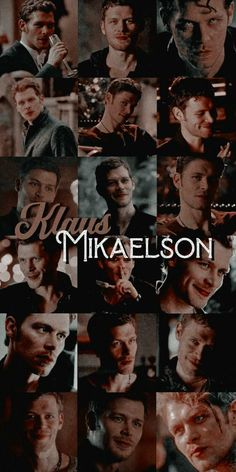 Klaus From Vampire Diaries, Damon Salvatore Vampire Diaries, Vampire Diaries Poster, Vampire Diaries Wallpaper, Vampire Diaries Seasons, Vampire Diaries The Originals, Niklaus Mikaelson Quotes, Klaus The Originals, Vampire Series