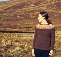 Ravelry: Crofthoose Yoke pattern by Ella Gordon