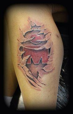 My Ironman Tattoo by Taz