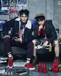 Chen and Suho