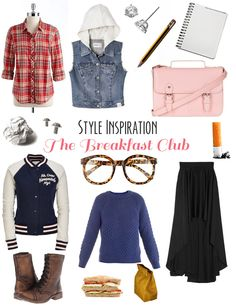 Style Inspiration: The Breakfast Club