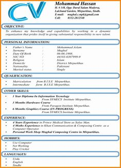 Looking for a Format Cv. We have Format Cv and the other about Lettre Modele it free. Standard Resume Format, Cv Format For Job, Latest Resume Format, Format Cv, Simple Resume Format, Resume Format In Word, Invoice Format, Best Cv Template, Job Resume Template