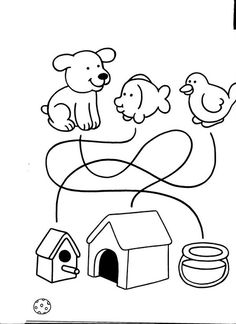 LIBRO EDUCACION INFANTIL 2 Math For Kids, Craft Activities For Kids, Worksheets For Kids, Preschool Homework, Free Preschool, Cognitive Activities, Kids Cuts, Picture Puzzles, Beginning Of The School Year