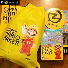 Super Mario Maker ya está listo en @zmart.cl  Recuerda...11 de Septiembre!! NO TE LO PIERDAS!!! www.zmart.cl ______________________________________ #SuperMarioMaker #supermario30 #amiibo #nintendo #nintendoregram #nintendolife #igersnintendo #playnintendo #jueganintendo by nintendojc