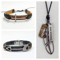 Acessórios masculinos www.elo7.com.br/cocarbrasil pulseiras masculinas mens bracelets colar masculino necklace