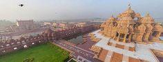 Akshardham in Delhi, India - Bing - The Akshardham temple was built for the Bochasanwasi Shri Akshar Purushottam Swaminarayan Sanstha, (aka BAPS), a Hindu sect headed by Pramukh Swami Maharaj.