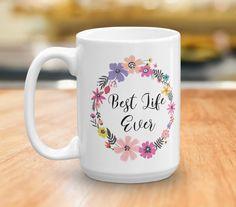 Best Life Ever Coffee Mug - JW Gift - Pioneer Gift - Coffee Lovers Gift - JW Baptism Gift - Pioneer School Gift - Inspirational Mug