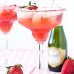 Strawberries & Champagne Margarita
