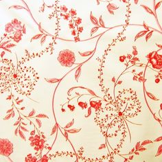 pink and red floral vintage wallpaper- using warm colours brings warmth into a family home Wallpaper For Sale, Painting Wallpaper, Home Wallpaper, Vintage Wallpaper, Cool Patterns, Textures Patterns, Print Patterns, Motifs Textiles, Decoupage Paper
