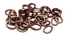 100 ANELLI OVALI * RAME ANTICO 4x5 mm 100 PEZZI anellini aperti chiusure apribili, by crys_e_cri, 1,00 € su misshobby.com