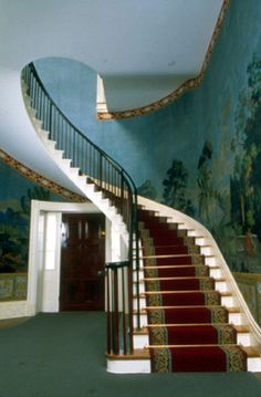 The stairs from The Hermitage #Nashville #AndrewJackson