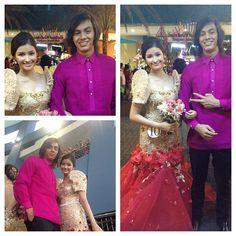 .@Roger Hawkins Hawkins Herrera (pepsiherrera) s Instagram photos   Webstagram - the best Instagram viewer Modern Filipiniana Gown, Filipiniana Wedding, Wedding Gowns, Costume Ideas, Costumes, Liza Soberano, Barbie Clothes, Filipino, Formal Wear