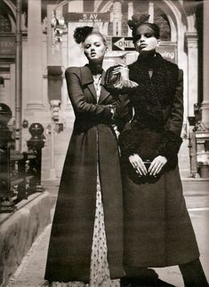 scene on the street: lindsey wixon and daphne groeneveld by alasdair mclellan for w august 2011