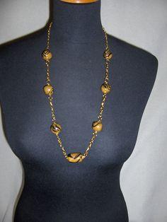 collana nero/oro