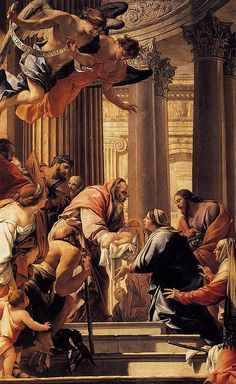 Vouet, Simon (1590-1649) - 1640-41 Presentation in the Temple (Louvre, Paris) by RasMarley, via Flickr