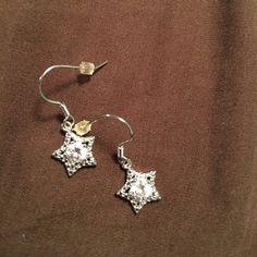 Earrings Very pretty star earrings silver plated Jewelry Earrings