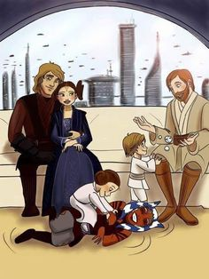 Anakin dreams of being a father.