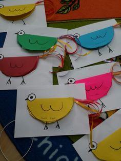 Halves bird for fractions