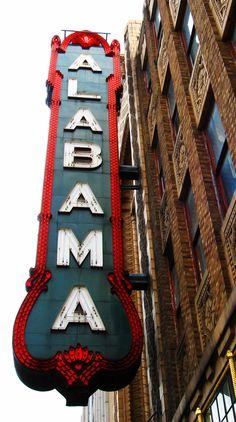 Birmingham Al - Alabama Theater