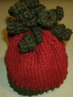 Unique Christmas Baby Hat Red and Green    #CreationsbyMaris