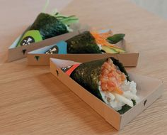 Yoobi Temakeria : Good Food Meets Good #Packaging #Design in London. Very cool PD