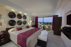 Grand Nuevo Vallarta modern chic room. #Pin2Win