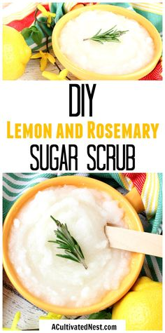 DIY Lemon and Rosema