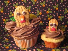 Turkey cupcakes are always a winner!