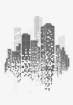 творческий город пряжки без элементов, городской, геометрические фигуры, квадрат PNG Image and Clipart