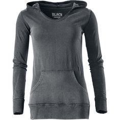 Extra light hooded sweater of Black Premium by EMP with kangaroo pocket.  - size large - £24.99