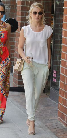 Julianne Hough- love her hair and outfit!