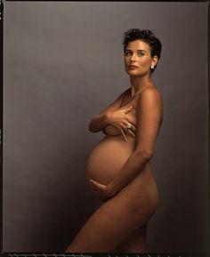 Demi Moore by Annie Leibovitz                                                                                                                                                                                 More