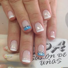 Uñas My Nails, Nail Designs, Projects To Try, Lily, Make Up, Nail Art, Ideas, Fairy, Perfect Nails